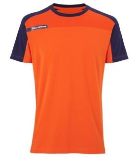 T-Shirt Tecnifibre F1 Men Stretch & Mesh Orange | My-squash.com