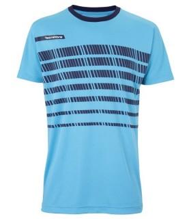 T-Shirt Homme Tecnifibre F2 Airmesh 360 Azur | My-squash.com