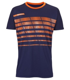 Tecnifibre F2 Men Airmesh 360 Crew Navy Blue | My-squash.com
