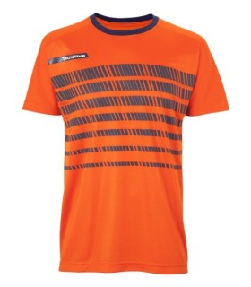 T-Shirt Homme Tecnifibre F2 Airmesh 360 Orange | My-squash.com