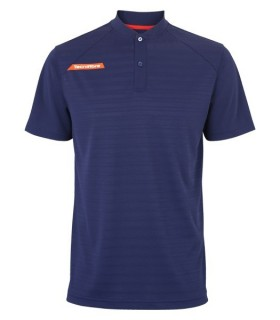 Tecnifibre F3 Men Ventstripe Polo Blue Navy | My-squash.com