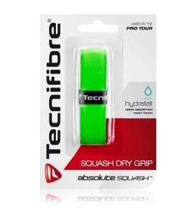 Tecnifibre Squash Dry Grip Green | My-squash.com