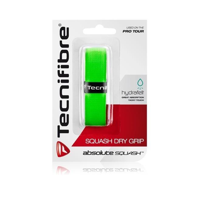 Tecnifibre Squash Dry Grip Vert