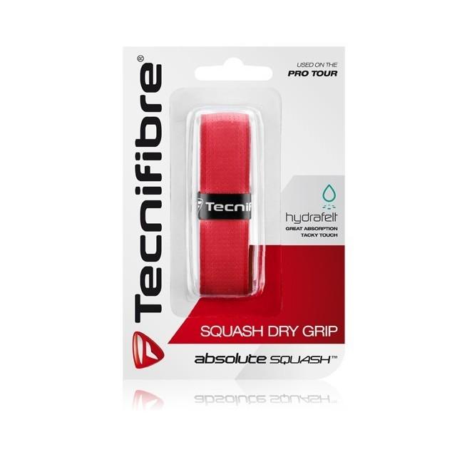 Tecnifibre Squash Dry Grip Rouge | My-squash.com
