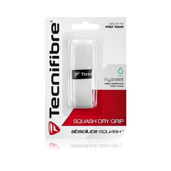 Tecnifibre Squash Dry Grip Blanc | My-squash.com