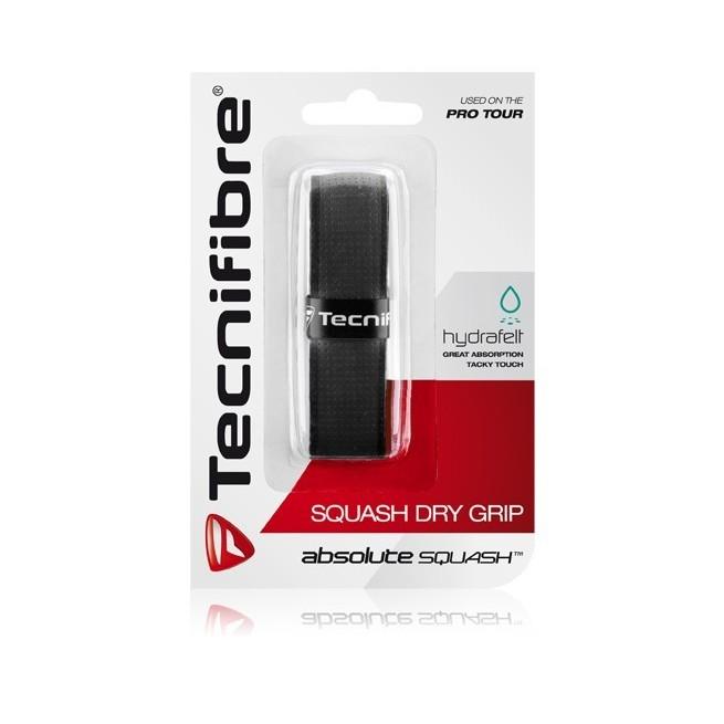 Tecnifibre Squash Dry Grip Black | My-squash.com