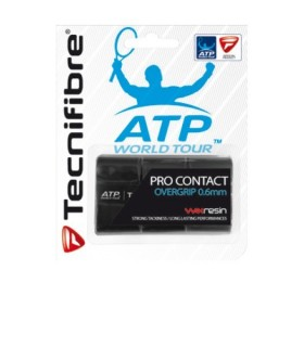 Overgrip Tecnifibre Pro Contact Black | My-squash.com