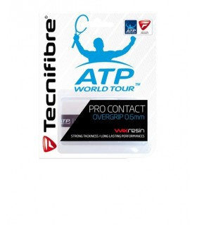 Tecnifibre Pro Contact White Overgrip| My-squash.com