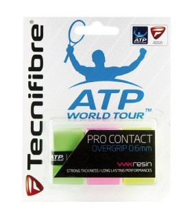 Sugrip Tecnifibre Pro Contact Multi-couleurs | My-squash.com