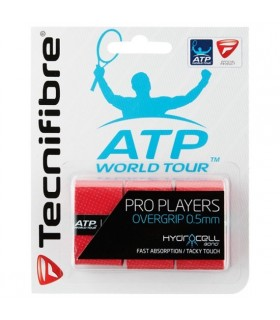 Surgrip Tecnifibre Pro Players Rouge | My-squash.com