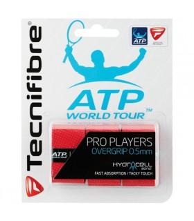 Surgrip Tecnifibre Pro Players Rouge   My-squash.com