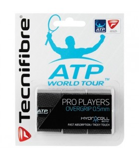 Tecnifibre Pro Players Black overgrip | My-squash.com