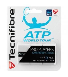 Surgrip Tecnifibre Pro Players Blanc |My-squash.com