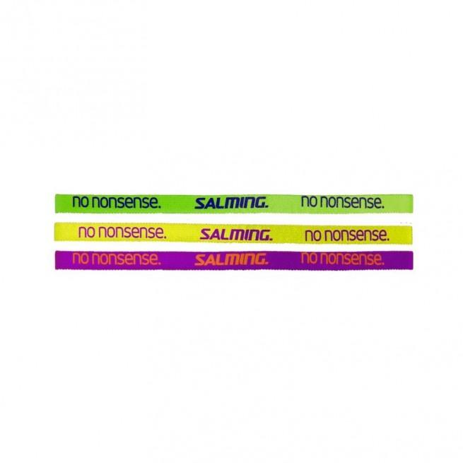 Salming hairband adult Yellow/Purple/Cactus