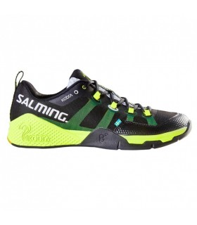 Salming Kobra Black / Yellow Squash shoes | My-squash.com