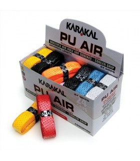 Karakal PU Air Grip - Box of 24 assorted grips | My-squash.com