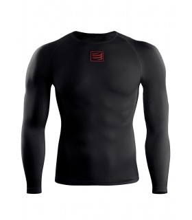 Compressport T-Shirt UltraLight Shirt - Noir - Racket   My-squash.com