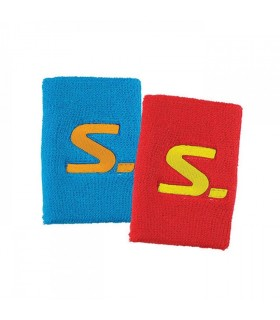 Salming wristband Red/Cyan