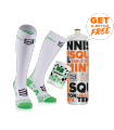 Pack Performance & DTox Full socks - Compressort Racket