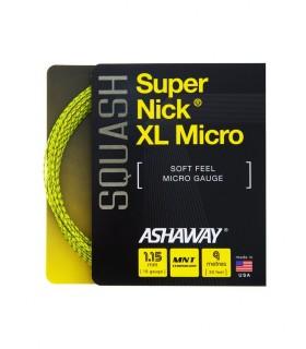 Ashaway Super Nick XL Micro 9m Squash string