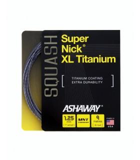 Cordage squash Ashaway Super Nick XL Titanium 9m | My-squash.com