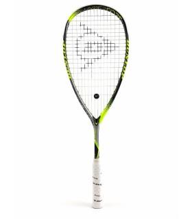 Raquette squash Dunlop Hyperfibre + Revelation 125 |My-squash.com