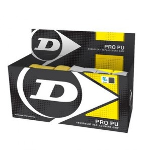 Dunlop Pro Pu - Box of 24 grips | My-squash.com