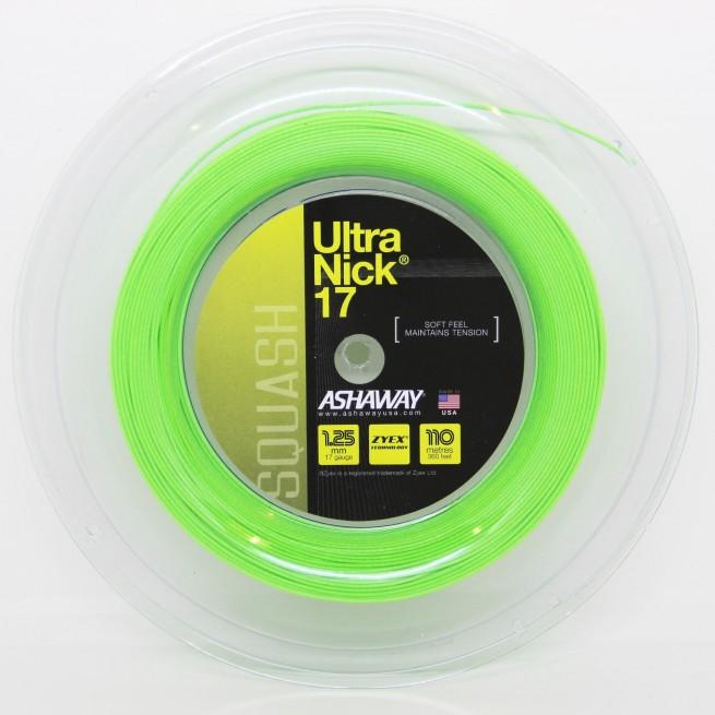 Ashaway Ultra Nick 17 1.25 mm 110 m Squash string