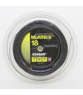 Ashaway Multinick 18 1.15 mm 110 m Squash strings