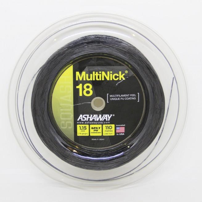 Cordage squash Ashaway Multinick 18 | My-squash.com