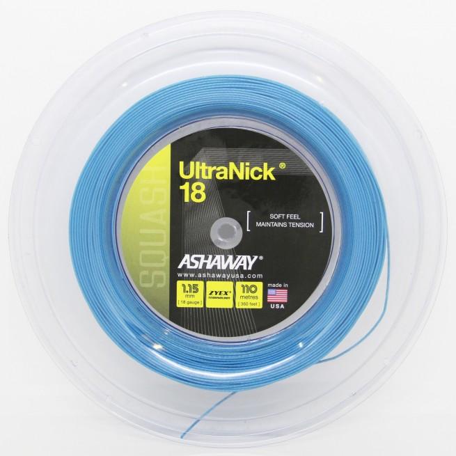 Cordage squash Ashaway Ultra Nick 18 | My-squash.com