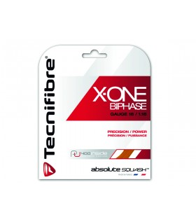 Cordage squash Tecnifibre X-One Biphase 1.18mm 9m | My-squash.com