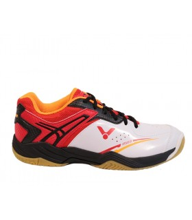 Victor A501 White/ red shoe | My-squash.com