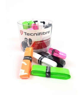 Tecnifibre squash tacky grip - Box of 24 | My-squash.com