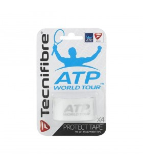 Transparent Protect Tape Tecnifibre (x4) | My-squash.com