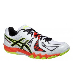Asics Gel-Blade 5 White squash shoes | My-squash.com