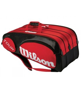 Wilson Tour Squash bag Red | My-squash.com