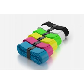 Eye Rackets Grips - Box of 24 white multi colors