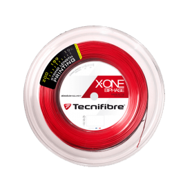 Tecnifibre X-One Biphase red 1.18mm 200m Squash string