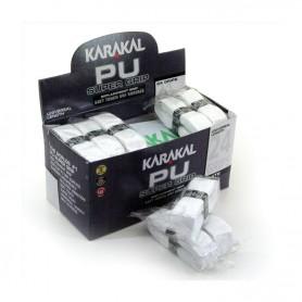 Karakal PU Super Grip - Boite de 24 grips blancs