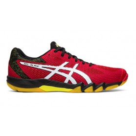 Chaussure squash Asics Gel-blade 7 Speed red white | My-squash.com
