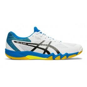 Chaussure squash Asics Gel-blade 7 Blanc Noir|My-squash.com