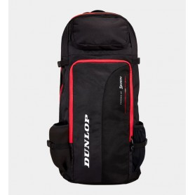 Dunlop Tac CX Performance long squash Backpack Red and Black | My-squash.com