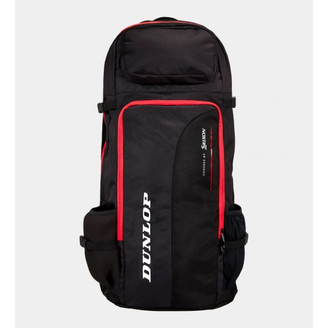 Dunlop Tac CX Performance long squash Backpack Red and Black | My-squash.com