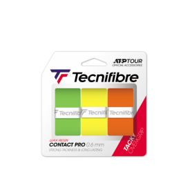 Tecnifibre Pro Contact Multi Colours Overgrip (box of 12) | My-Squash.com