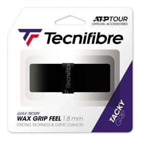 Tecnifibre Squash Wax Feel Grip - Black | My-Squash.com