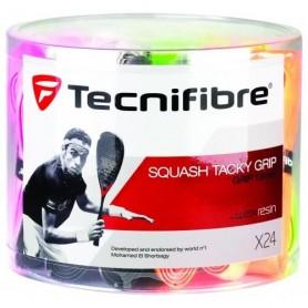 Tecnifibre squash tack grip - Boite de 24 |My-squash.com