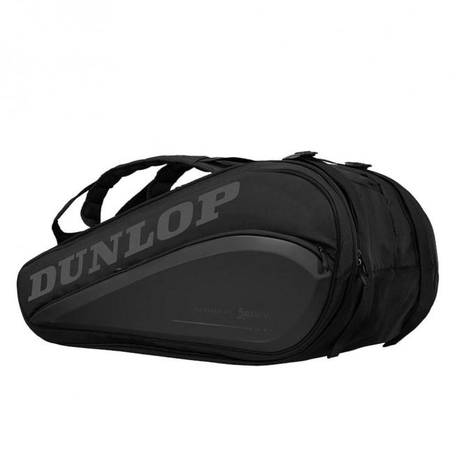 Dunlop Performance CX 9 Racket Squash Bag - Black/Black| My-Squash.com