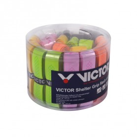 Victor Shelter Grip flash colour Grip - Boite de 24 grips | My-Squash.com