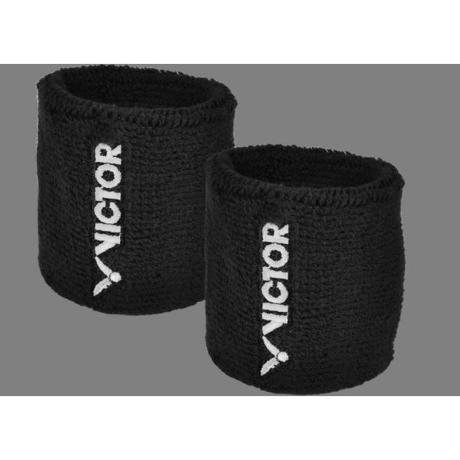 Victor Squash Wristbands - Black | My-Squash.com